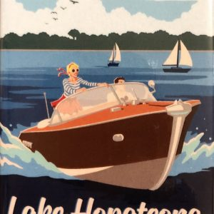 Lake Hopatcong Magnet – Classic Boat