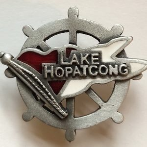 Lake Hopatcong Souvenir Pin