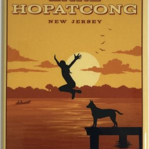 Lake Hopatcong Magnet – Jump In!